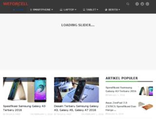 weforcell.com screenshot