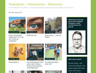 wegbegleiter.wordpress.com screenshot