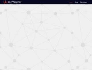 wegnerdesign.com screenshot
