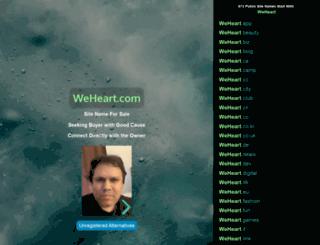 weheart.com screenshot