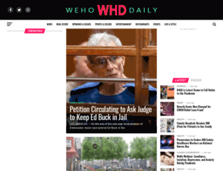 wehodaily.com screenshot