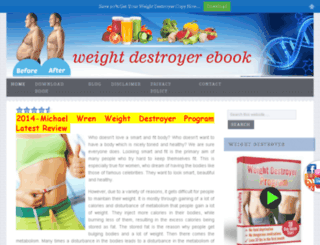 weightdestroyerebook.com screenshot