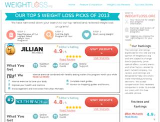 weightloss.org screenshot