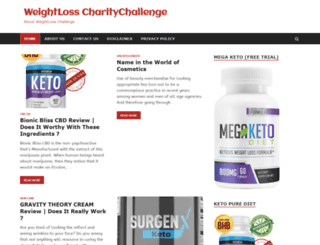 weightlosscharitychallenge.com screenshot