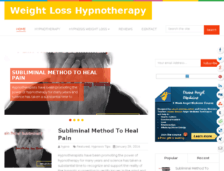 weightlosshypno.com screenshot