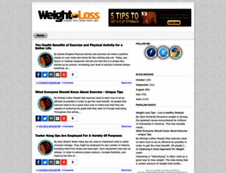 weightlosstips1000.blogspot.com screenshot