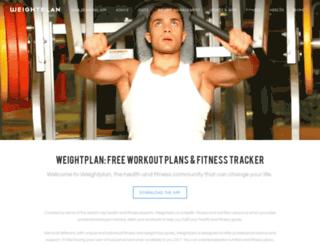 weightplan.com screenshot