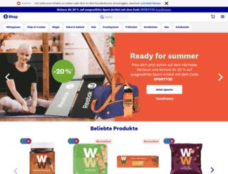 weightwatchers-shop.ch screenshot