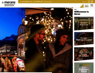 weihnacht.meran.eu screenshot