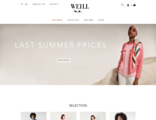 weill-boutique.fr screenshot