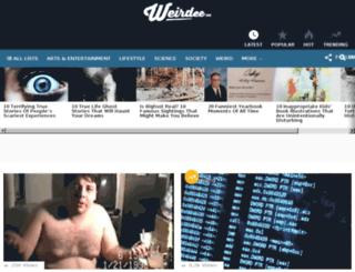 weirdee.com screenshot