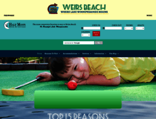 weirsbeach.com screenshot