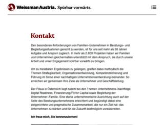 weissman.at screenshot