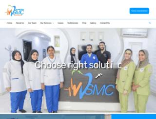 wejdansmc.org screenshot