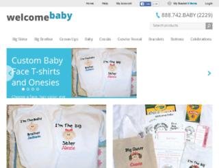 welcomebaby.com screenshot