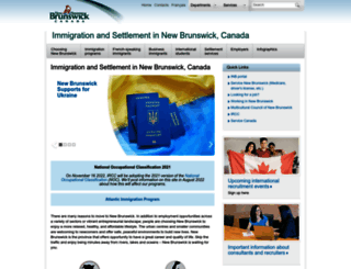 welcomenb.ca screenshot