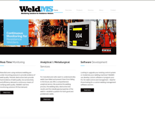 weldms.com screenshot