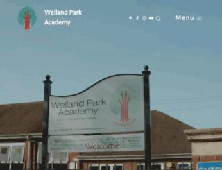 wellandparkacademy.co.uk screenshot