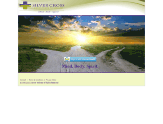 wellness.silvercross.org screenshot