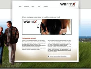 wellness.warmx.de screenshot