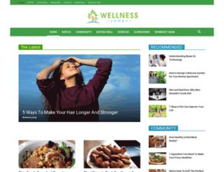 wellnessjunky.com screenshot