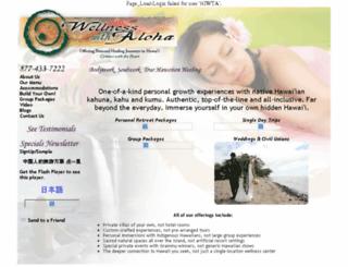 wellnesswithaloha.com screenshot