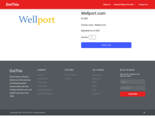 wellport.com screenshot