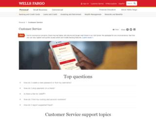 wellsfargocommunity.com screenshot