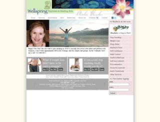 wellspring-hypnosis.com screenshot