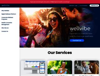 wellvibe.com screenshot