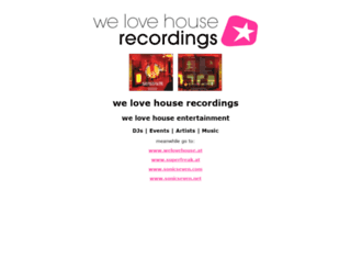 welovehouse.net screenshot