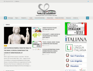 weloveitalian.org screenshot