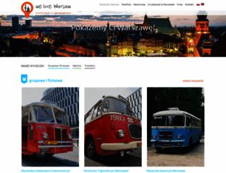 welovewarsaw.pl screenshot