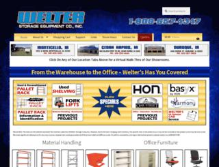 welterstorage.com screenshot