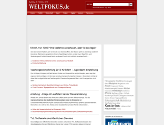 weltfokus.de screenshot