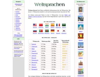 weltsprachen.net screenshot