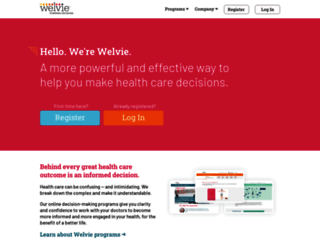welvie.com screenshot