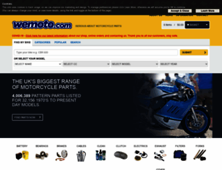 wemoto.com screenshot