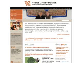 wennergren.org screenshot