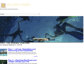 wep.smallworldjourneys.com.au screenshot