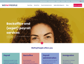 wepaypeople.com screenshot