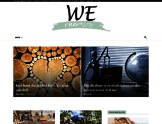 wepromise.eu screenshot