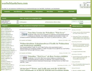 werbeblaettchen.com screenshot