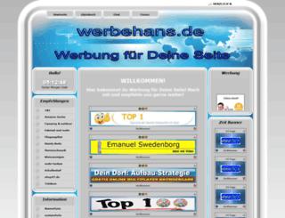 werbehans.de screenshot