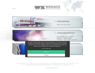 werinox.de screenshot