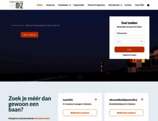 werkeninzeeland.nl screenshot