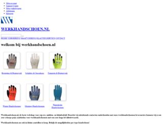 werkhandschoen.nl screenshot