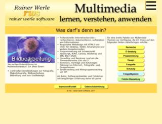 werle.com screenshot