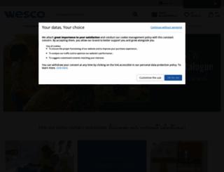 wesco-eshop.ie screenshot