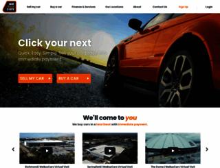 wesellcars.co.za screenshot
